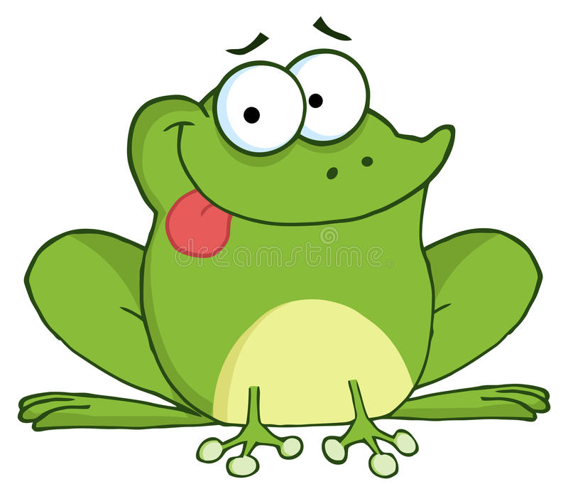 Happy Frog Royalty Free Stock Images