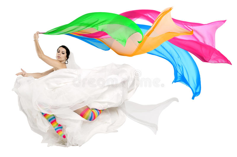 Download Happy fun bride stock photo. Image of marriage, adult - 25999454
