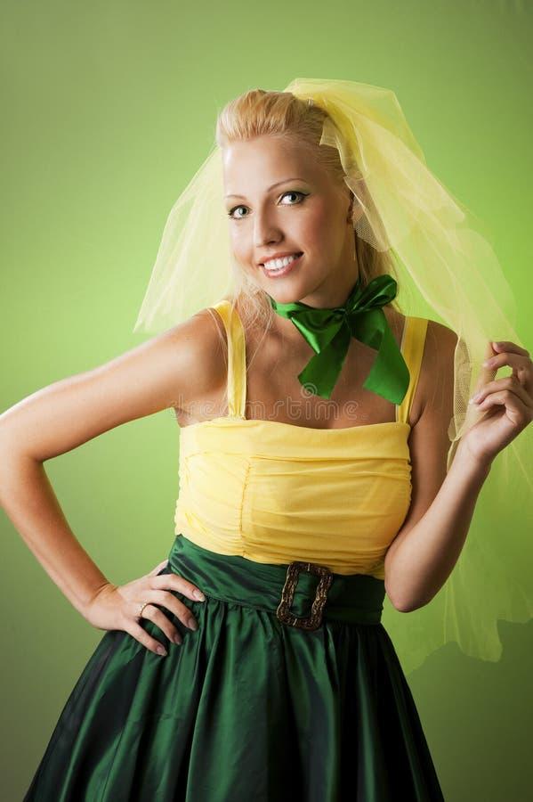 Download Happy funny bride stock photo. Image of attractive, expressive - 10426450
