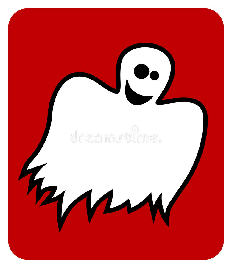 Happy Ghost Royalty Free Stock Photo