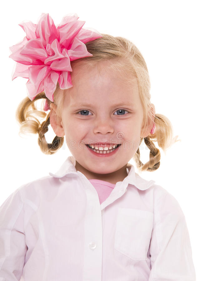 Download Happy girl. stock photo. Image of innocence, copy, beautiful - 10074470