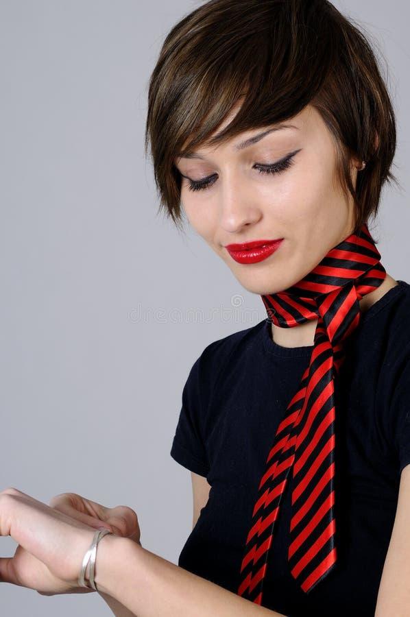 Download Happy girl admiring gift stock image. Image of happy - 12770709