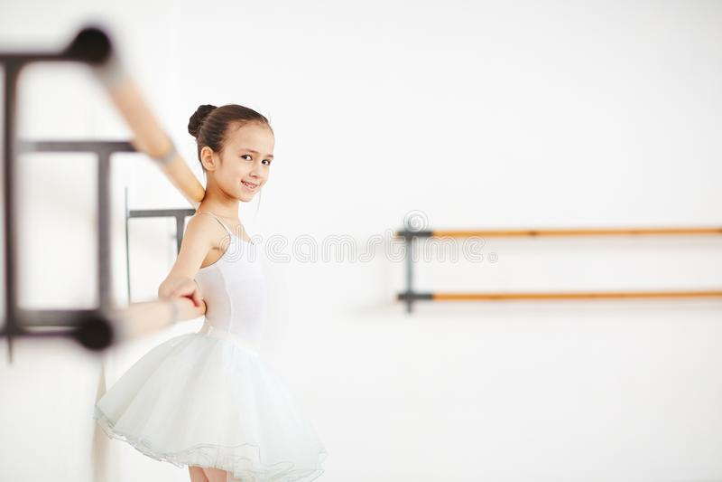 Girl training stock photos