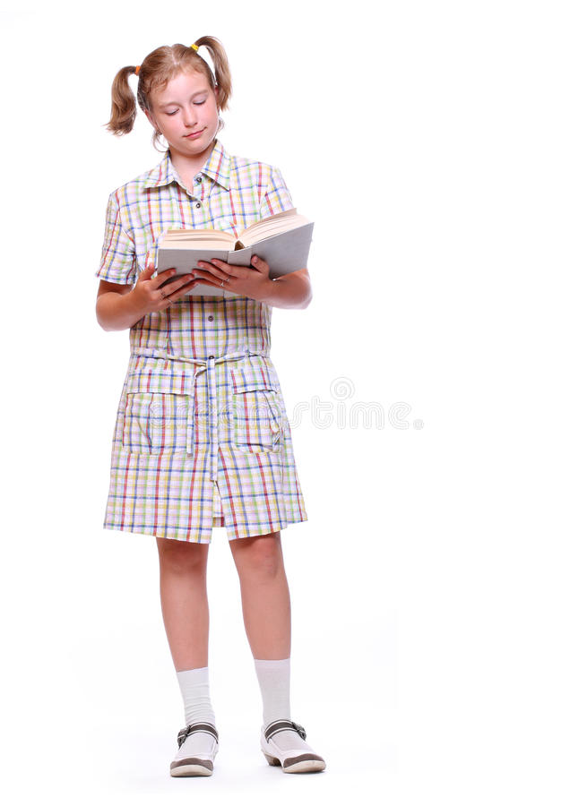 Download Happy Girl With Books. Stock Photos - Image: 15193343