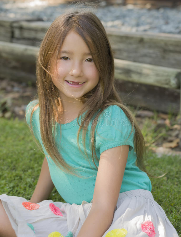 Download Happy Girl With No Front Teeth Stock Photo - Image: 32194214