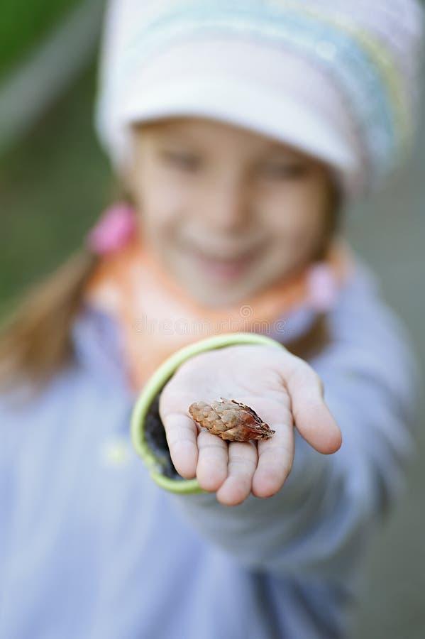 Download Happy girl-preschooler stock photo. Image of hands, happy - 25590734