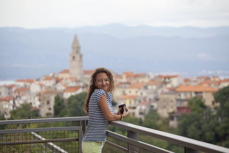 Download Happy girl stock photo. Image of adriatic, beautiful - 33465434