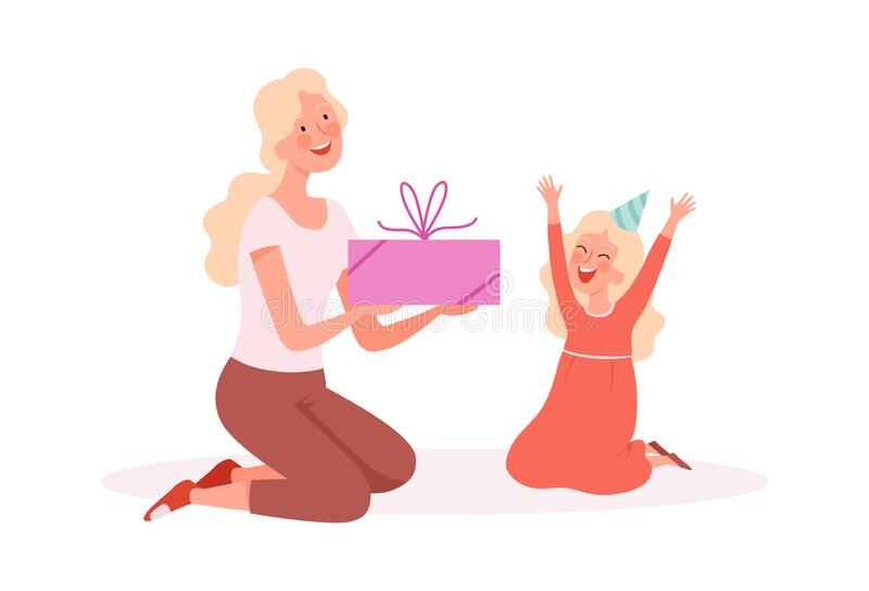 Child Giving Gift Stock Illustrations 1 974 Child Giving Gift Stock Illustrations Vectors Clipart Dreamstime