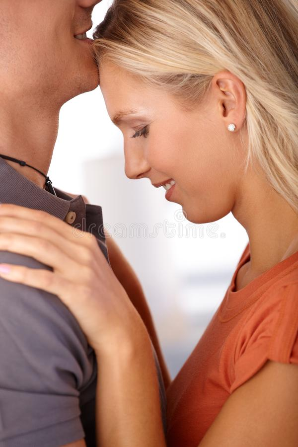 Download Happy Girlfriend In Embrace Stock Photo - Image: 23992968