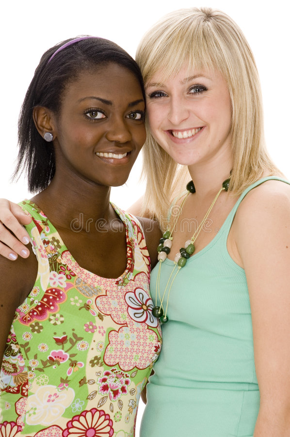 Download Happy Girls stock photo. Image of ethnic, women, mixed - 729168