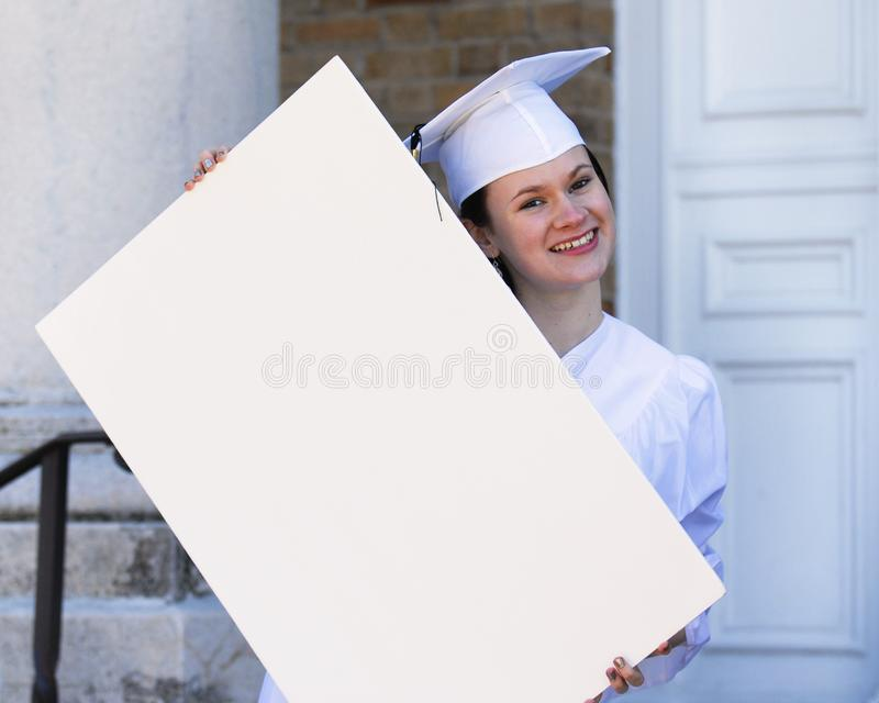 Happy Graduate stock photo
