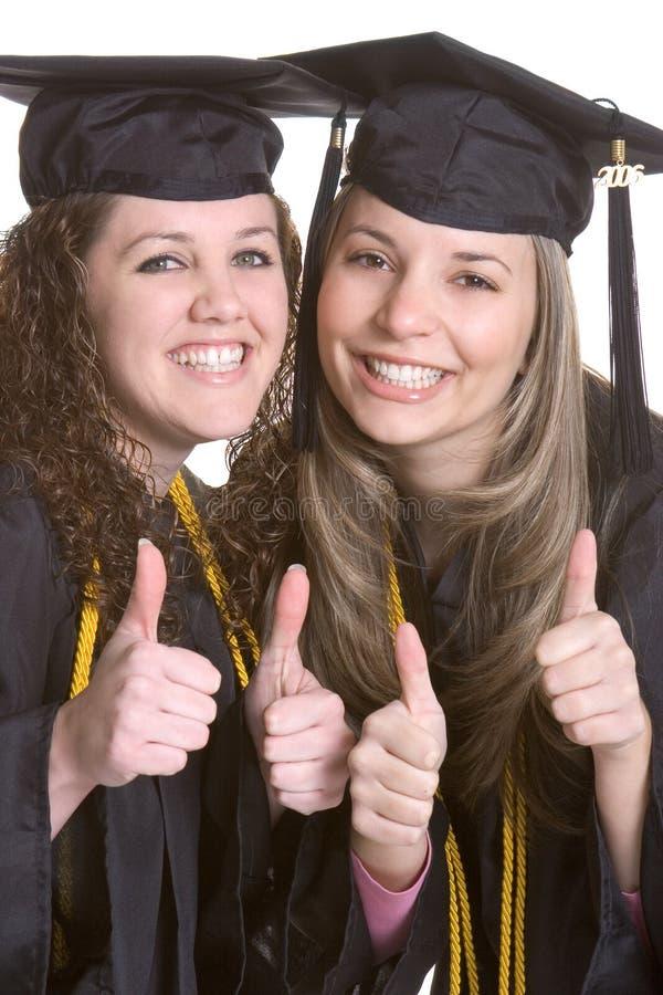 Happy Graduates royalty free stock photo