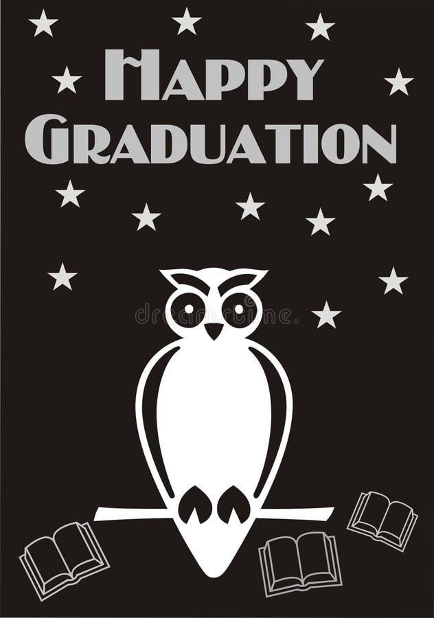 Happy Graduation Card stock photo
