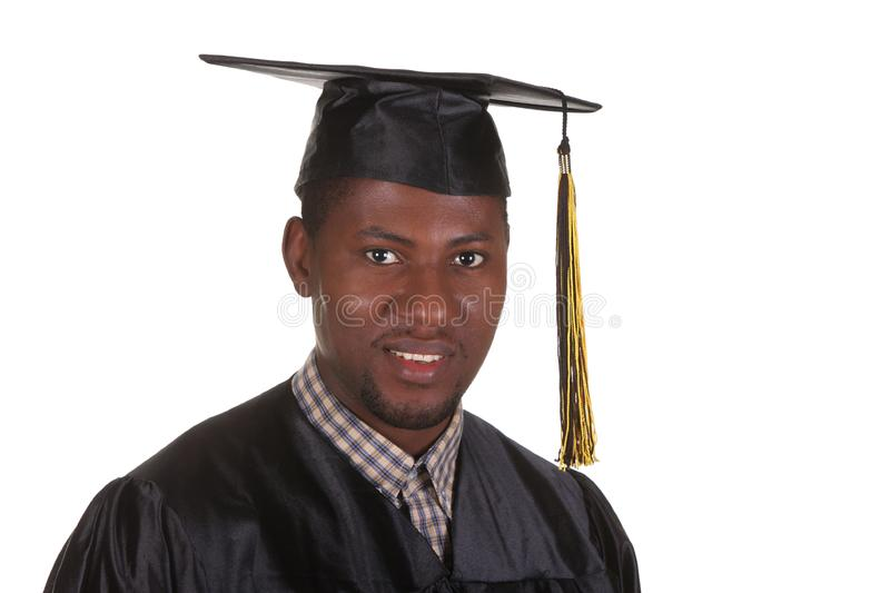 Happy graduation a young man stock images