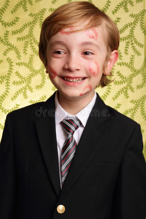 Download Happy Gramma Kisses stock photo. Image of laugh, smiling - 24549382