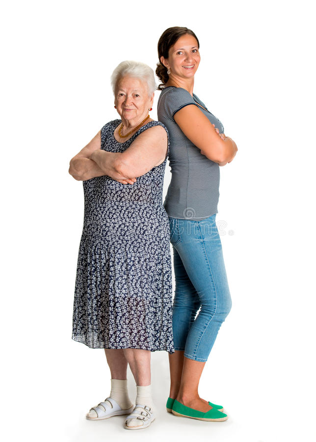 Download Happy Grandmother And Granddaughter Royalty Free Stock Photography - Image: 33245517