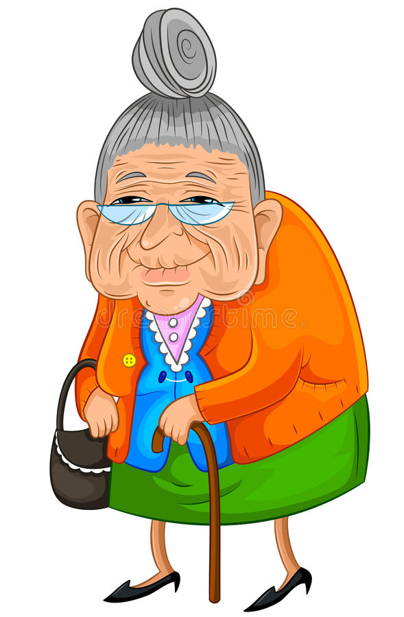 Download Happy granny stock vector. Illustration of lifestyle - 26982827