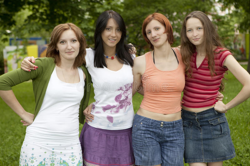 Download Happy group of friends stock image. Image of pleasure - 14774943