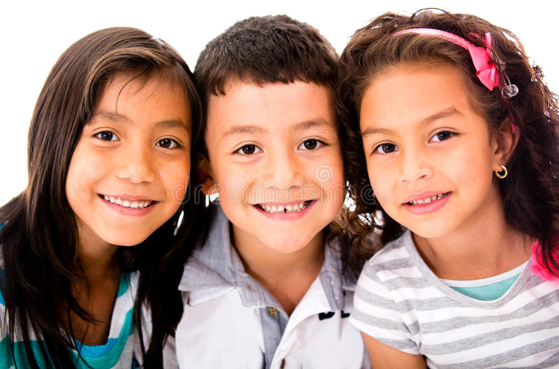 Download Happy group of kids stock image. Image of people, latinamerican - 27716537