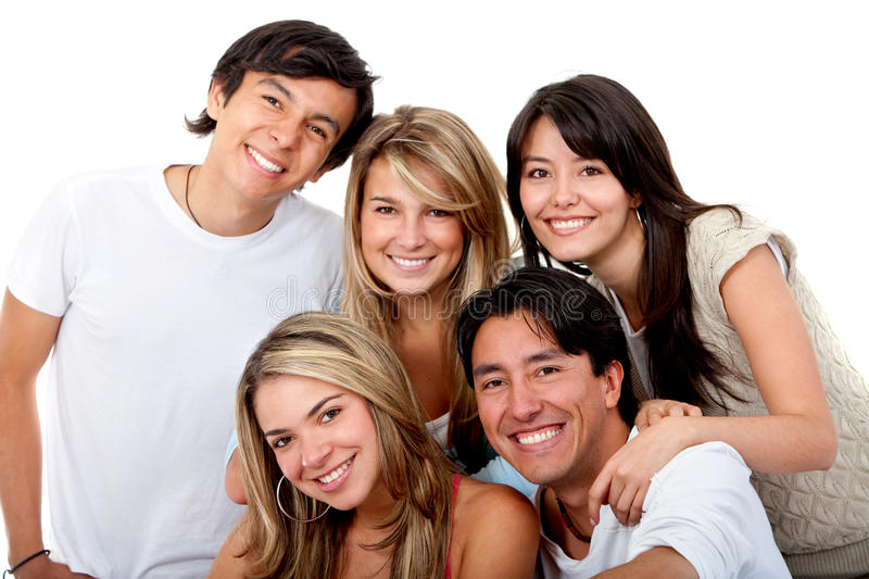 Download Happy group of people stock photo. Image of person, guys - 12835356