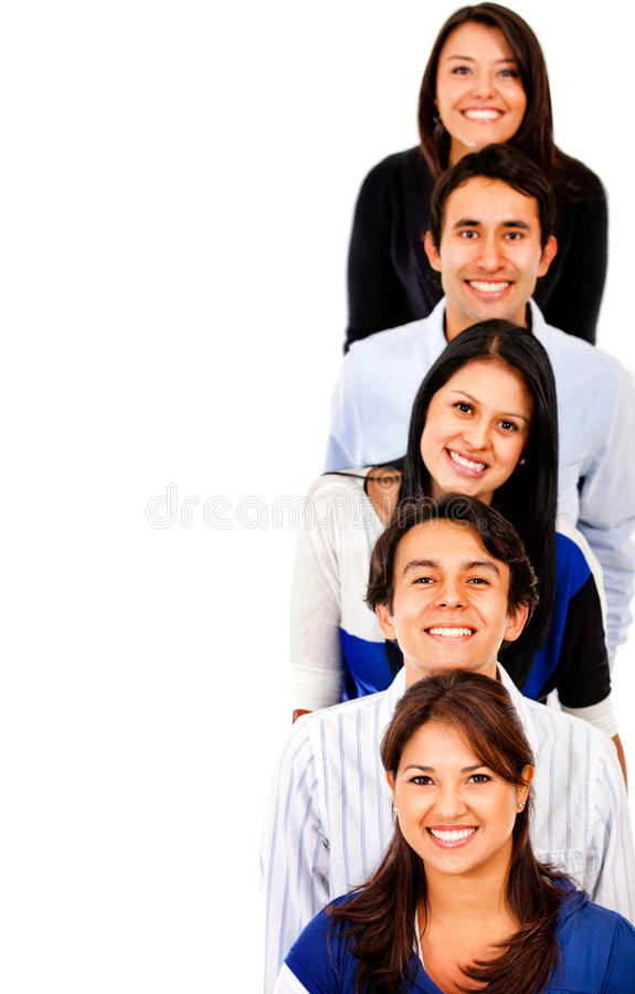 Download Happy group of people stock image. Image of content, friendship - 24512249