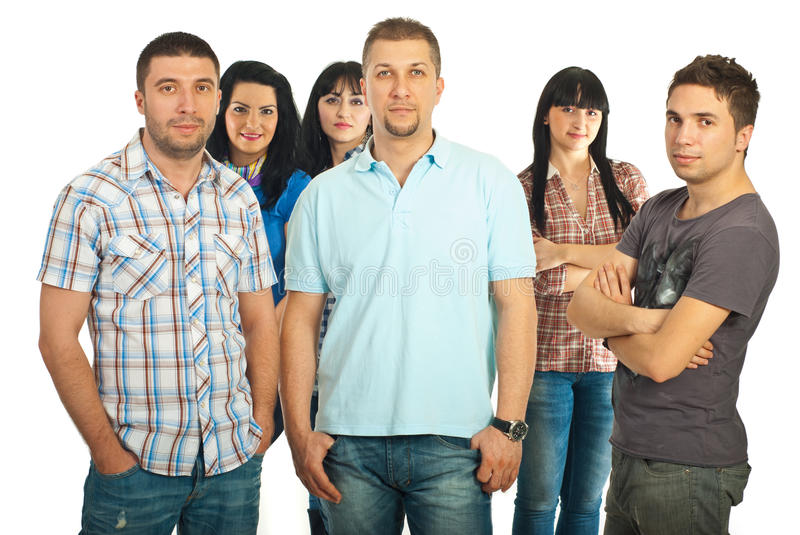 Download Happy Guys And Their Girlfriends Stock Photo - Image: 18846402