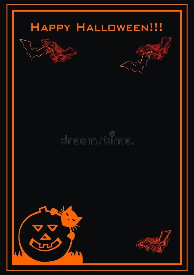 Download Happy Halloween stock vector. Image of halloween, bats - 10440687