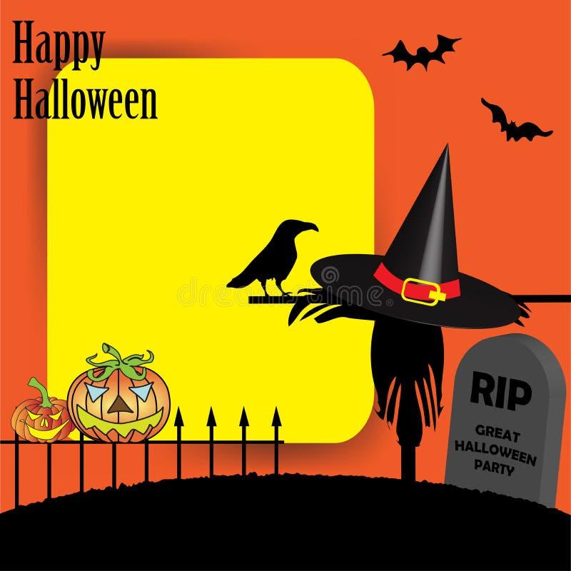 Download Happy Halloween stock vector. Image of happy, black, background - 16397306