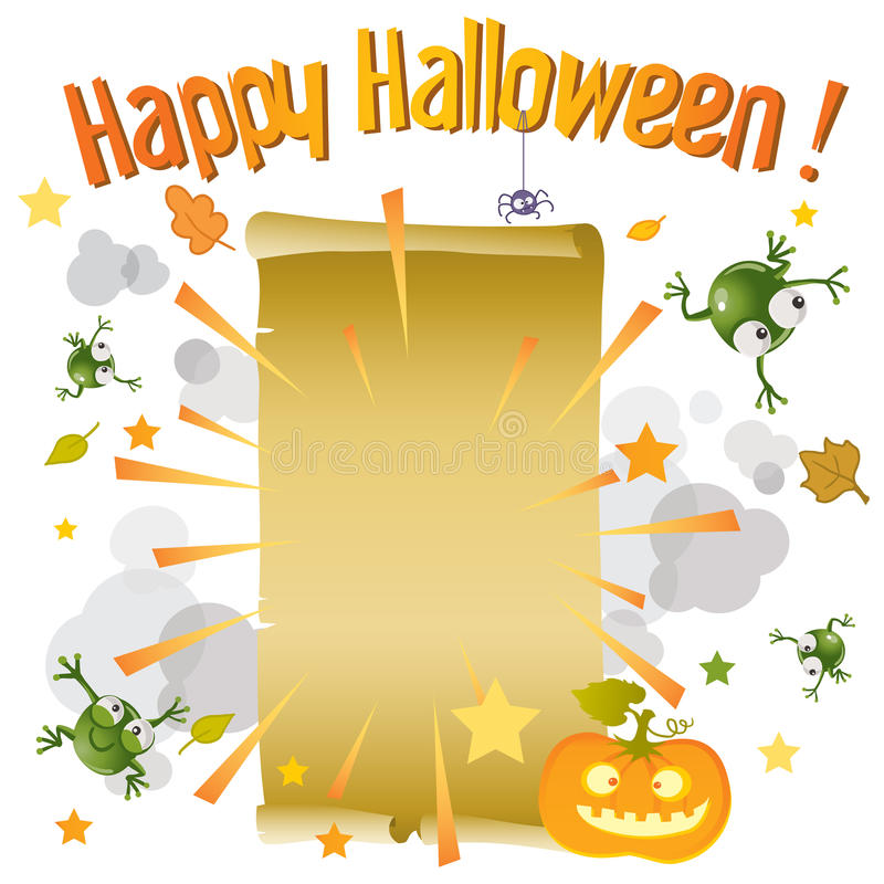 Download Happy halloween stock vector. Image of magic, funny, page - 21565154