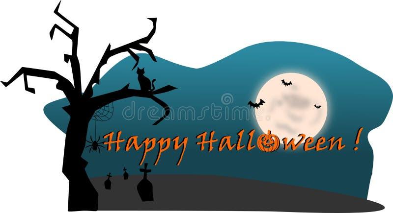 Download Happy Halloween stock illustration. Illustration of dead - 24135239