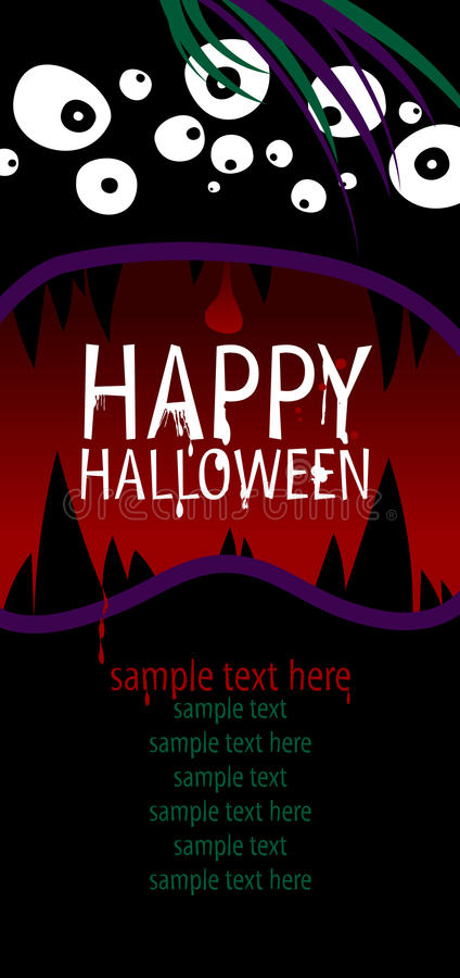 Download Happy Halloween. stock vector. Illustration of graphic - 26514761