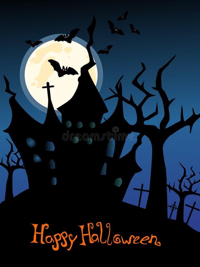 Happy Halloween royalty free illustration