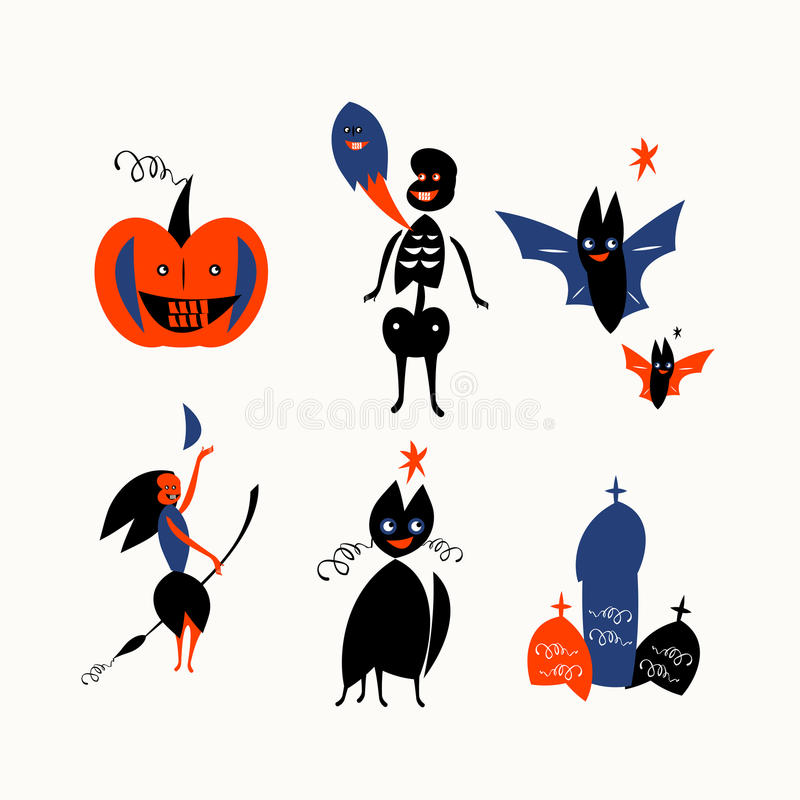 Download Happy Halloween Royalty Free Stock Photography - Image: 27044177