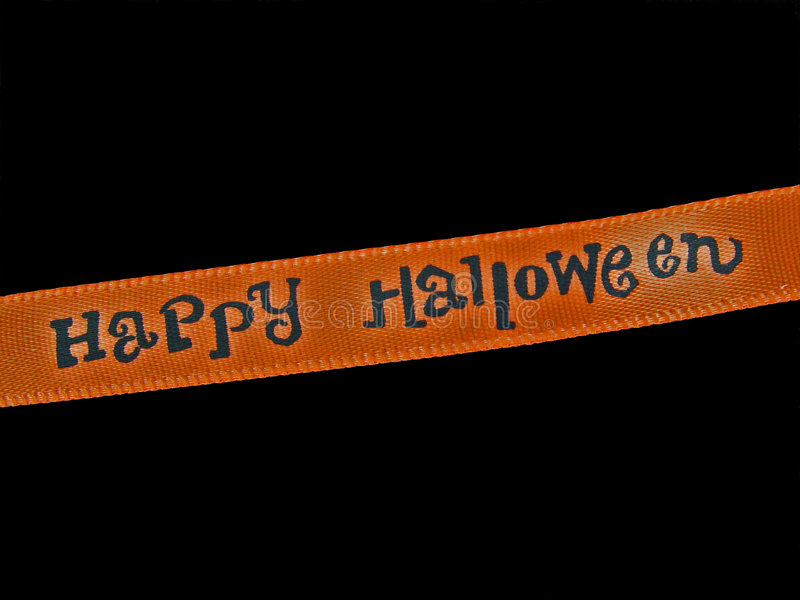 Download Happy Halloween stock photo. Image of autumn, orange, message - 274868