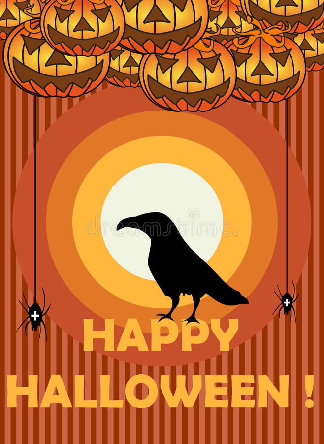 Download Happy Halloween stock vector. Illustration of event, fall - 32830381