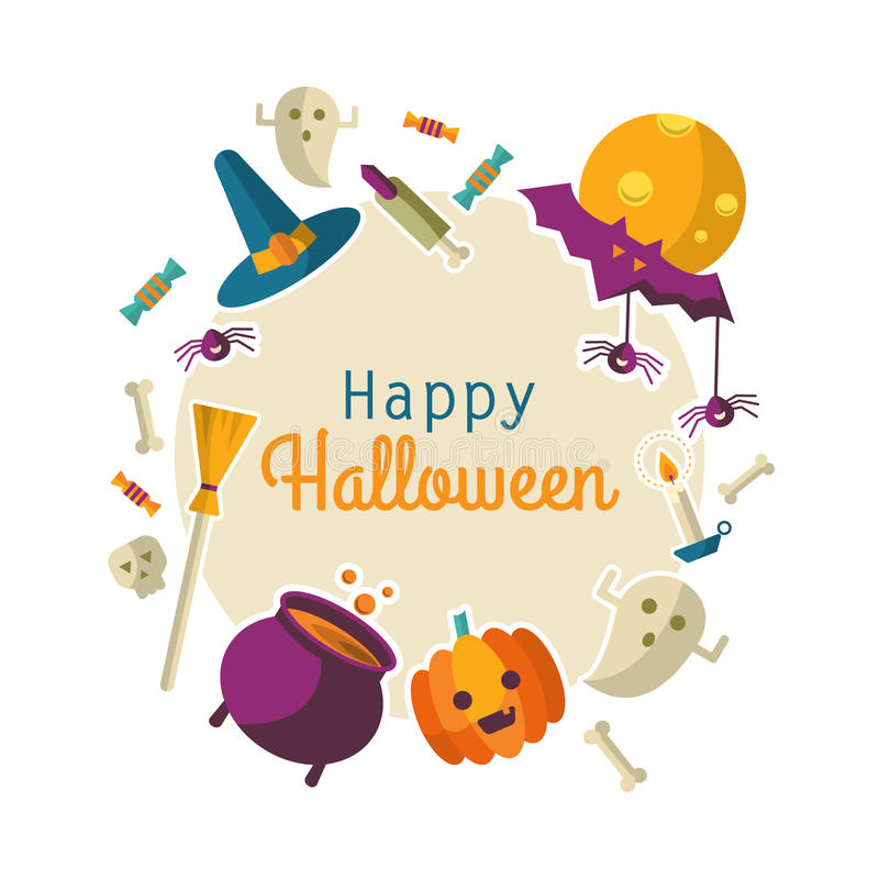 Free Happy Halloween Backgraund Royalty Free Stock Image - 77947586