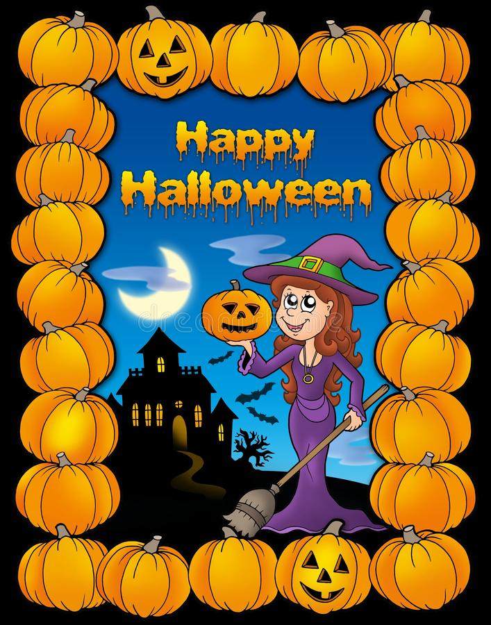 Download Happy Halloween Card Stock Photography - Image: 10693852