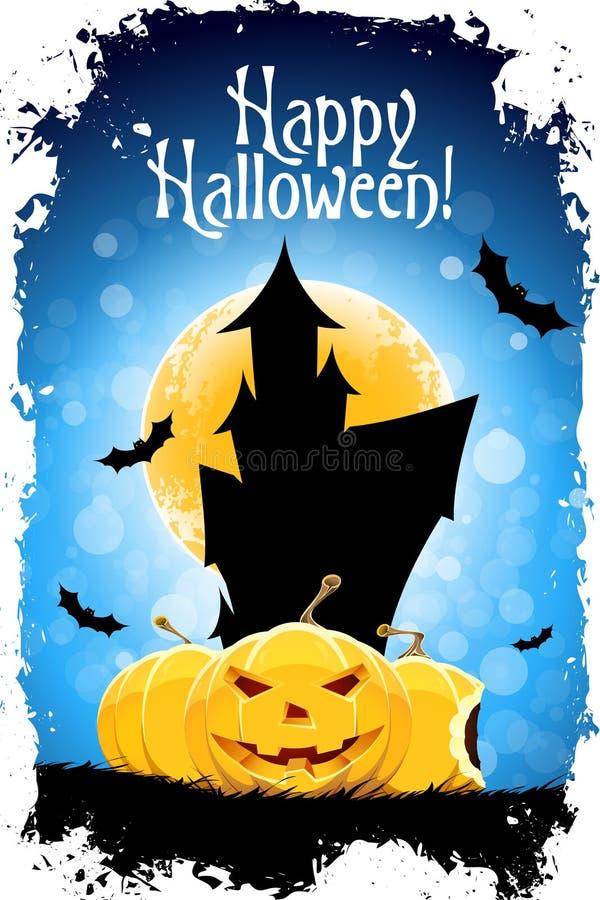 Download Happy Halloween Card stock vector. Illustration of pumpkin - 26553307