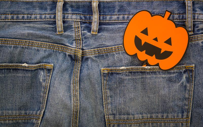 Happy Halloween day. Fashion background concept. Top View of Hal royalty free stock image