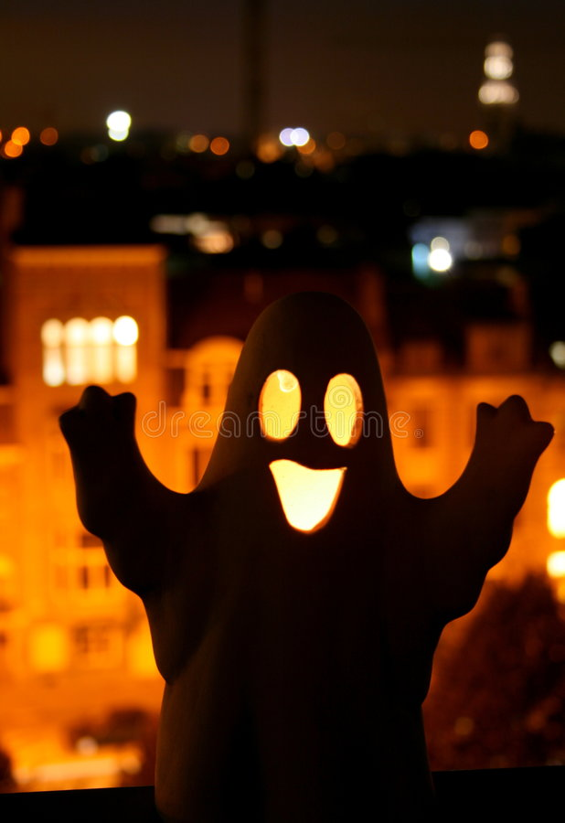 Happy Halloween Ghost Royalty Free Stock Images