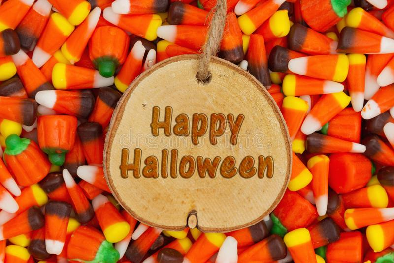 Happy Halloween Greeting stock photography