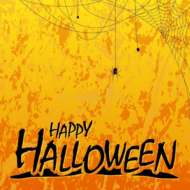 Happy Halloween header background royalty free illustration
