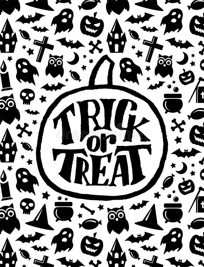 Happy Halloween. Vector banner scary design vector illustration