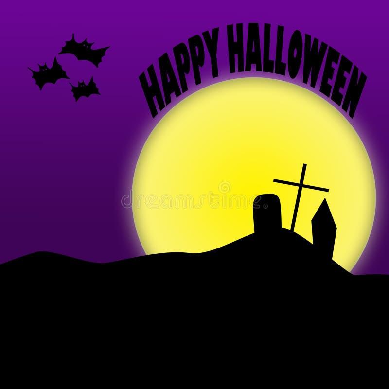 Happy Halloween Illustration stock photography