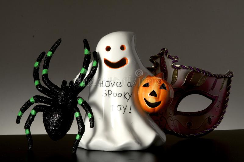 Happy Halloween. Invitation Background copy space for Happy Halloween royalty free stock photo