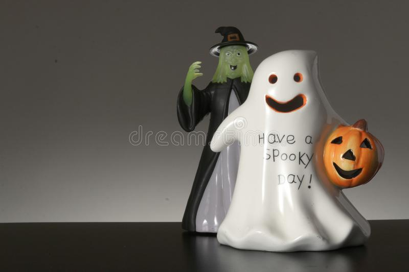 Happy Halloween. Invitation Background copy space for Happy Halloween stock images