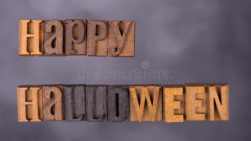 Happy Halloween Sign stock images