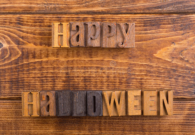 Happy Halloween Sign stock photos