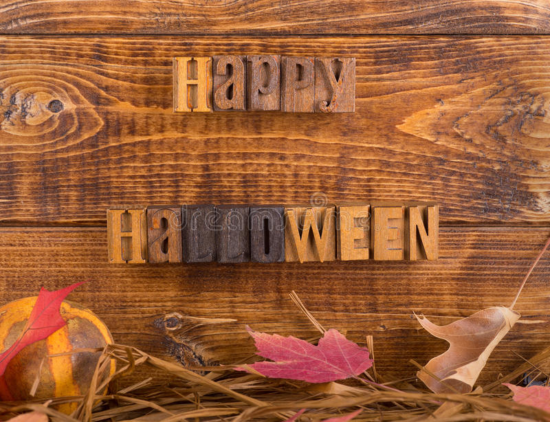 Happy Halloween Sign royalty free stock photography
