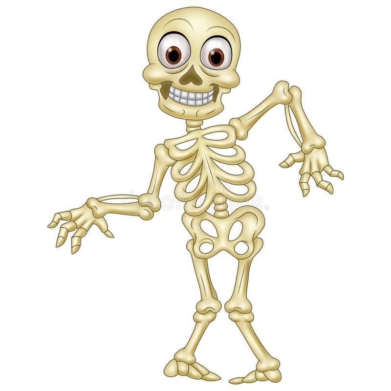 Happy Halloween skeleton royalty free illustration